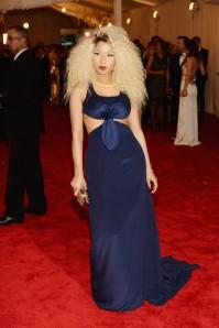 Nicki Minaji @ MET Costume Gala 2013