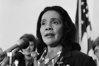 Coretta Scott King Speaking