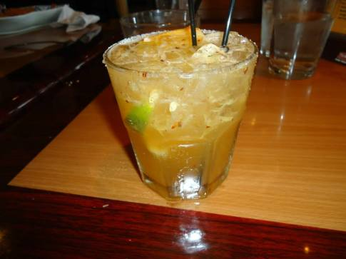 Thaigarita- a spicy, but refreshing drink.
